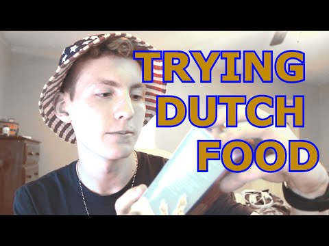TRYING DUTCH FOOD