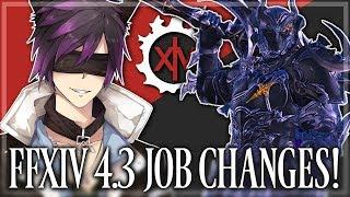 FFXIV: Job Changes in 4.3! (Final Fantasy XIV   1080p   PC)