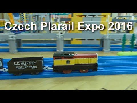 プラレール Tomy Thomas: 23 trains running at the same time at the 2016 exhibition [HD]