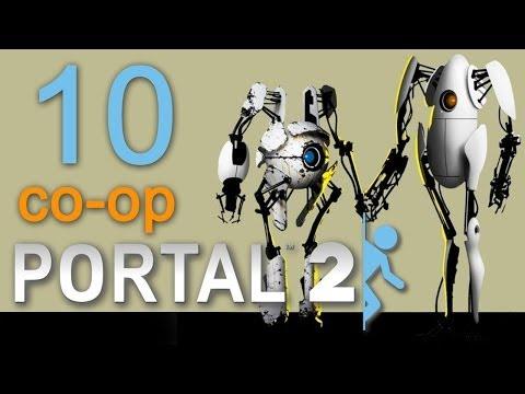 Portal 2 co-op - Прохождение игры на русском - Кооператив [#10]