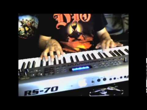 Judas Priest Keyboard cover