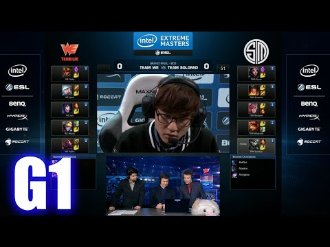 Team WE vs TSM | Game 1 Grand Finals IEM Katowice 2015 LoL | Team Solomid TSM vs Team WE G1