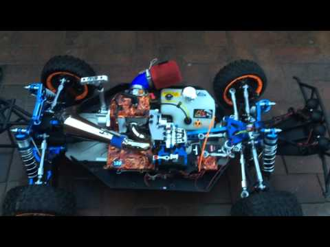 LOSI 5IVE T Awesome Hop Ups - Totally custom Losi 5ive T