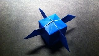 Origami Artificial Satellite