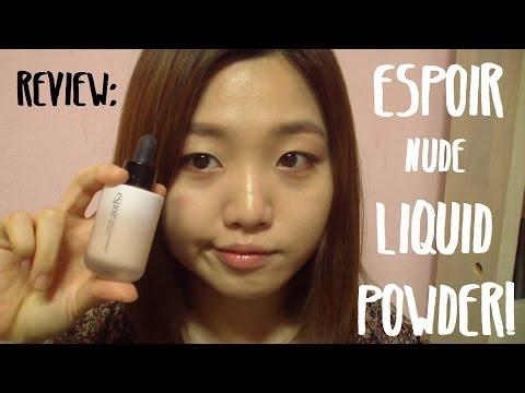 Review: Espoir Nude Liquid Powder