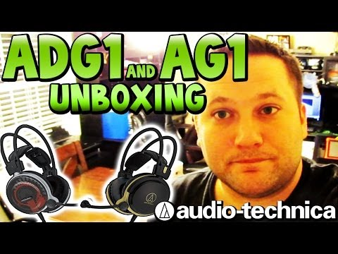 Unboxing & Review of Audio-Technica