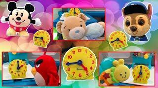 Hickory Dickory Dock Nursery Rhyme. Cute Toys!