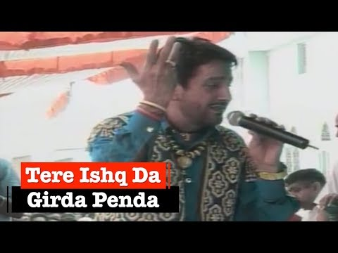 Tere Ishq Da Girda Penda By Gurdas Maan [full Song] Nakodar Live video