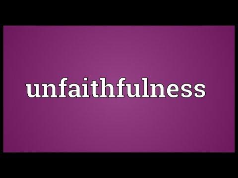 Header of unfaithfulness