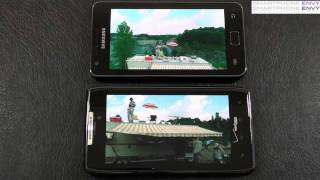 Motorola Droid RAZR vs Samsung Galaxy S II Face Off