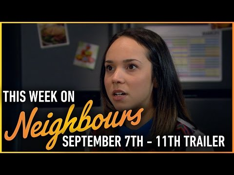 This week on Neighbours (September 7th - 11th)