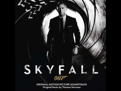James Bond Skyfall soundtrack FULL ALBUM