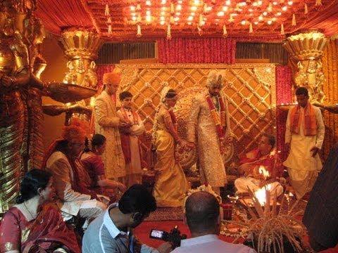 aishwarya and abhishek bachan wedding