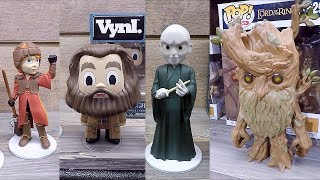 Harry Potter And Lord of the Rings Funko Pop Vinyl Figures At The 2018 New York Toy Fair