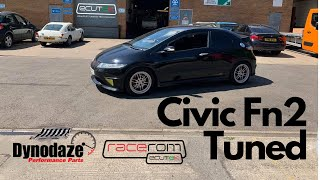 Honda Civic Type R Dynodaze Tuned with Ecutek Features Enabled