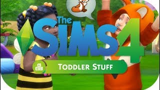 CAS AND GAMEPLAY! | THE SIMS 4 // TODDLER STUFF