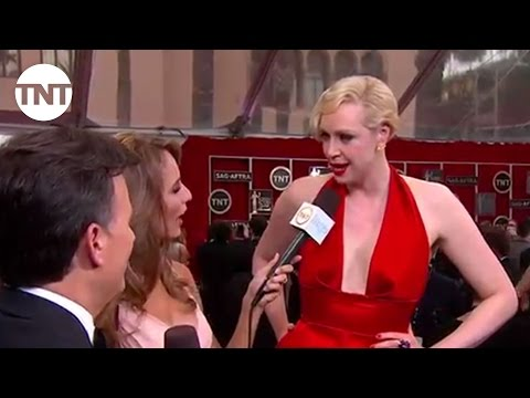 Gwendoline Christie I SAG Awards Red Carpet 2015 I TNT
