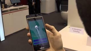 Fujitsu Iris Recognition Technology @MWC 2015