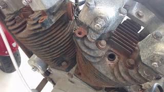 Will it run? 85 Harley Davidson Sportster after Irma hurricane