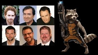 Comparing The Voices - Rocket Raccoon