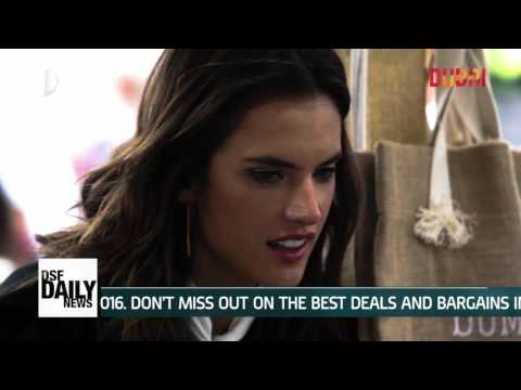 Alessandra Ambrosio - DSF Daily News Day 29