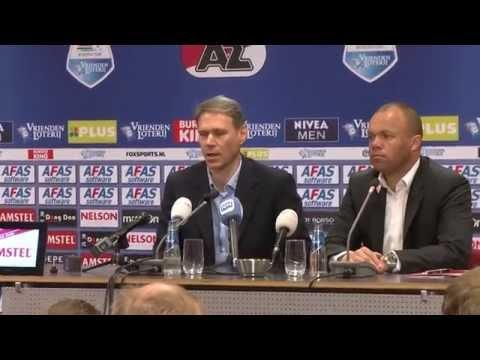 20-05-2014 Alkmaar - Marco van Basten naar AZ
