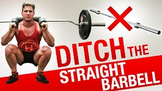 SQUATS: 4 Reasons To Ditch The STRAIGHT BAR | GET BIGGER & STRONGER LEGS WITH THE SAFETY SQUAT BAR!