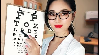 [ASMR] Eye Exam and Glasses Fitting (Doctor Roleplay)