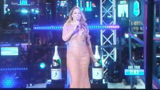 "Mariah Carey 2017 New Years ""FAIL"""