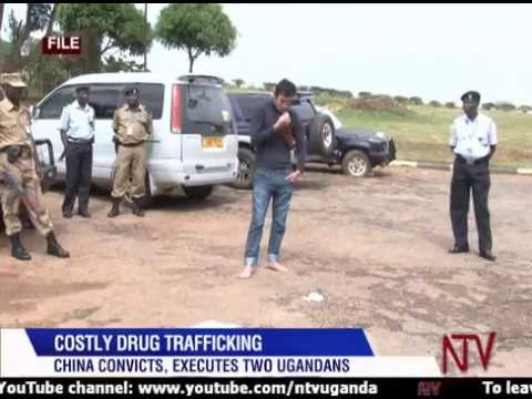 China executes two Ugandans convicted of drug trafficking