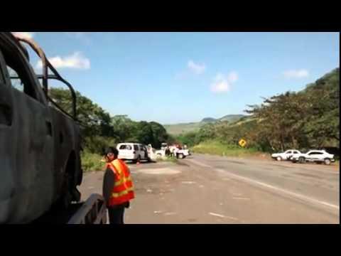 Retiran unidades tras balacera en Ángel R  Cabada, Veracruz