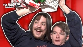 2 Dudes, 1 Xmas Sweater, Wrappin' Gifts - 10 Minute Power Hour