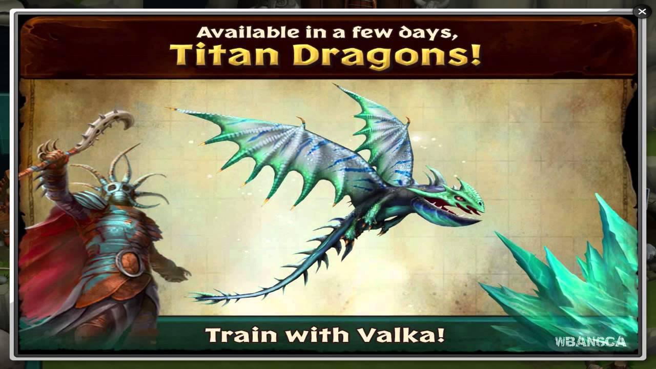 Dragons Rise of Berk Titan Scauldron Dragons Rise of Berk News