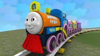 Choo Choo train - Toy Factory - Thomas & Friend - Kids videos for kids - Cartoon Cartoon- Train Kids