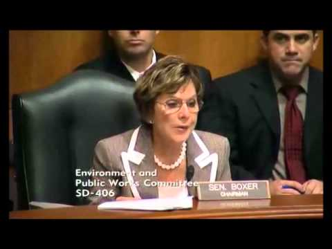 Sen. Boxer vs. The NRC RE The San Onofre Nuclear Plant