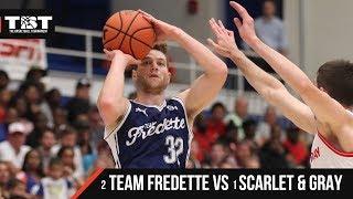 2018 TBT Quarterfinals - #2 Team Fredette VS #1 Scarlet and Gray