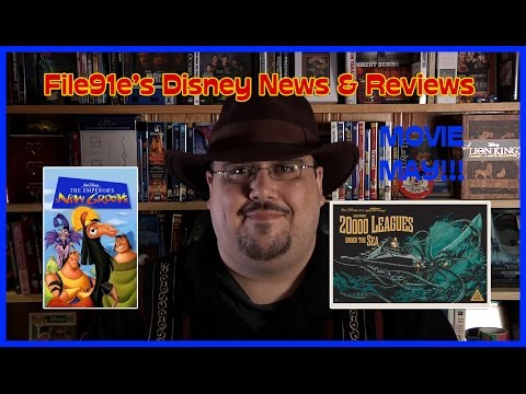 File91e's Disney News & Reviews MOVIE MAY! (20K Leagues Under the Sea & Emperor's New Groove)
