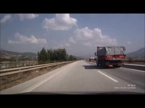 Adana Şanlıurfa Otoyolu ( Osmaniye'den Gaziantep'e ) Full HD