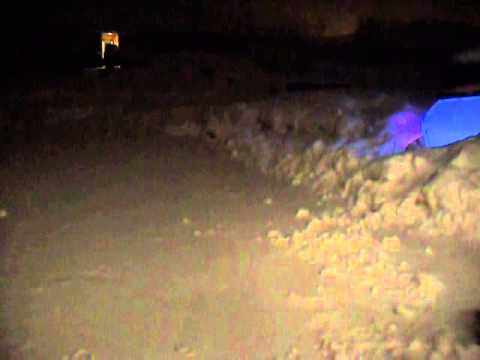 Large Amount Of Heavy Wet Snow Fall In Western Wisconsin (Thursday, Feb. 20th 2014)