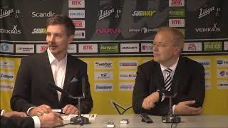 SaiPa-TPS -lehdistötilaisuus 15.9.2017