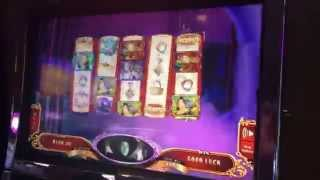 Wizard of Oz Ruby Slippers 2 Slot Machine Bonus - Wicked Witch Feature