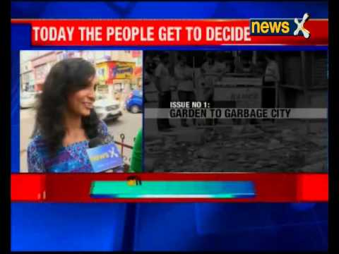 Municipal Elections in Begaluru: Issues of Pollution, poor infrastructure and corruption top lists