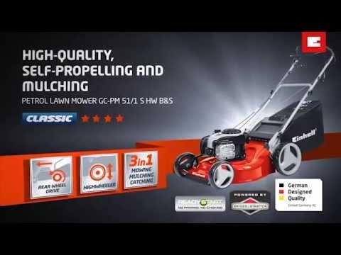 Einhell GC-PM51/1S 4-Stroke Petrol Lawnmower