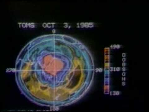 Depletion of the Ozone Layer 1987