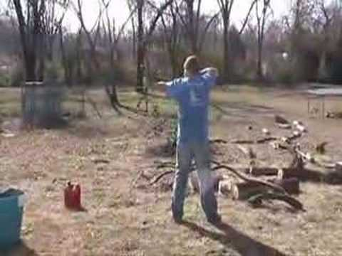Me shooting my new Bowtech General Video