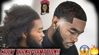 CRAZY Haircut Transformation!!!!!!!