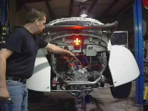 2332 VW ENGINE FOR AIR COOLED EXPRESS VOLKSWAGEN DRAG RACE BUG NHRA