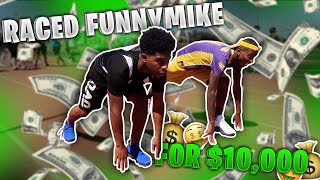 I RACED FUNNY MIKE FOR 10,000 DOLLARS! ft. Logan Paul, Lil Mosey, DDG, Fousey Tube