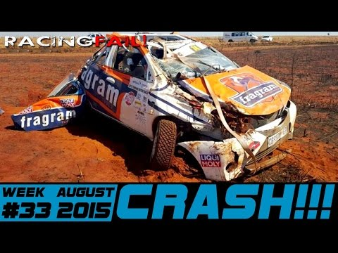 Racing and Rally Crash Compilation Week 33 August 2015
