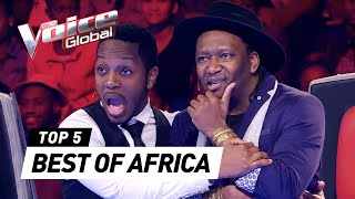 The Voice Global | BEST Blind Auditions of AFRICA
